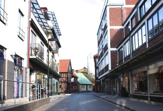 Vy mot Klammerdammsgatan