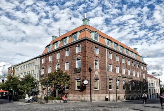 Fasad från Stora Torg