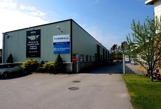 Industri lager att hyra Halmstad Sannarp