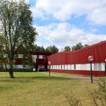 Fasad lager/kontorsdel