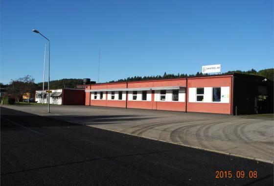 Fastighet till salu Oskarström industri